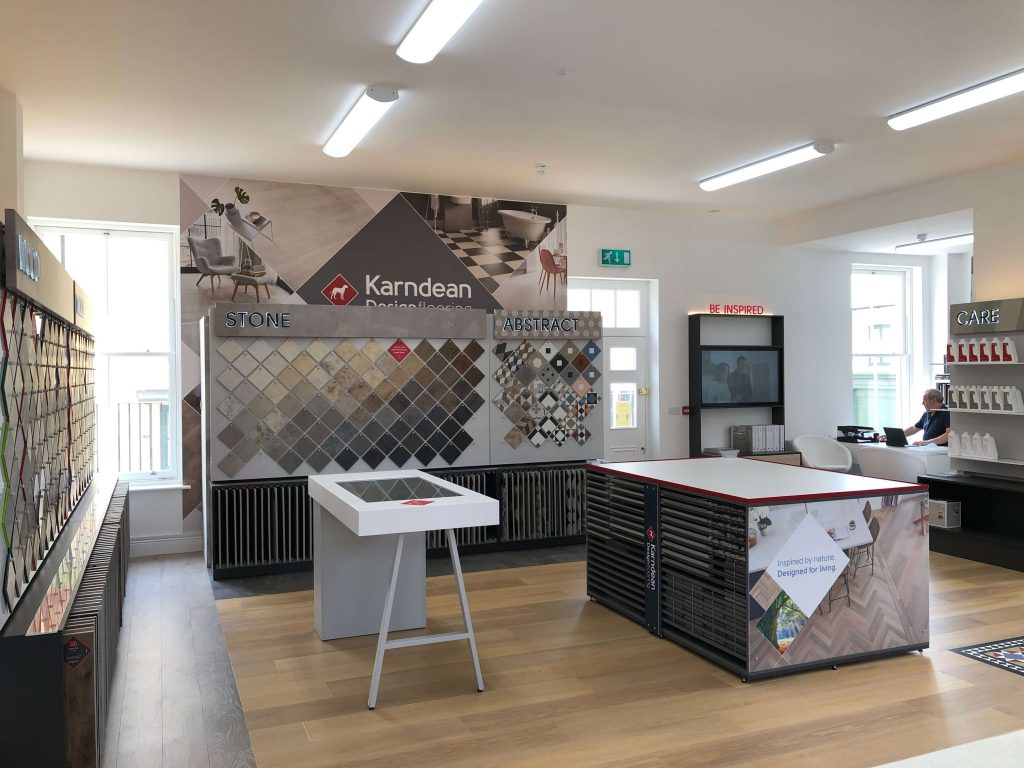 The Karndean Inspire Studio at The Carpet Company Poundbury